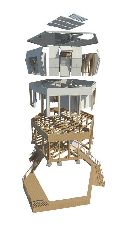 Proyecto ayni propuesta de per para el decatl n solar for Espacios minimos arquitectura