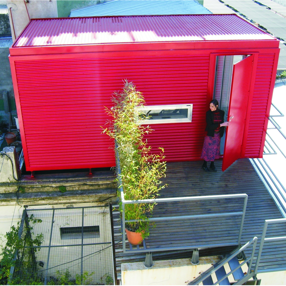 Galer a de taller rosa skific fps oficina de for Oficinas de arquitectura