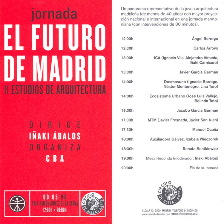Jornada: El futuro de Madrid