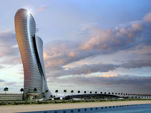 In Progress: Capital Gate by RMJM, Most leaning building in the world