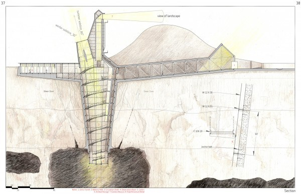 Gallery Of Mine Plug Didactic Subterranean Architecture 8