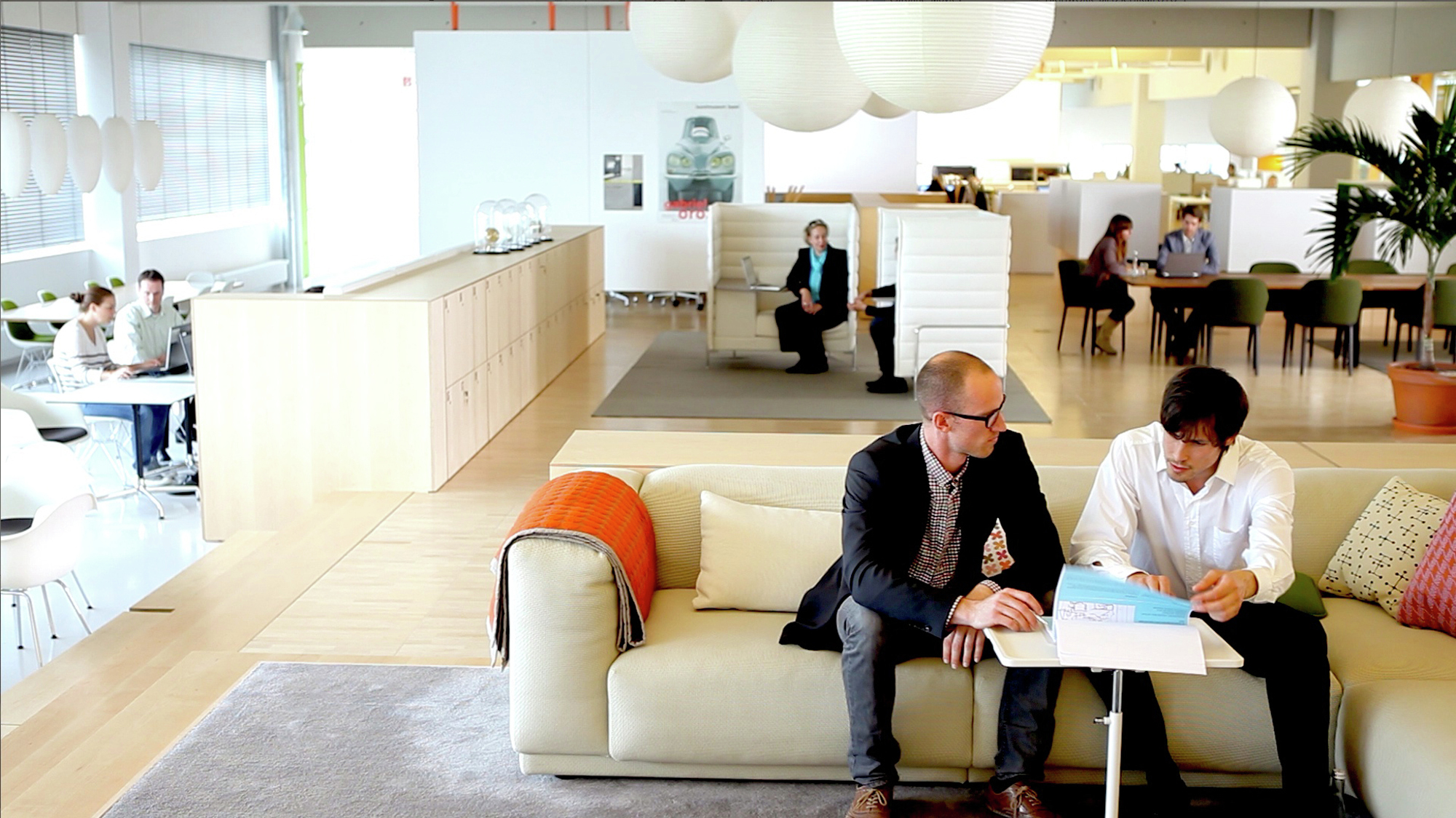 The citizen office concept by vitra archdaily for Office design vitra