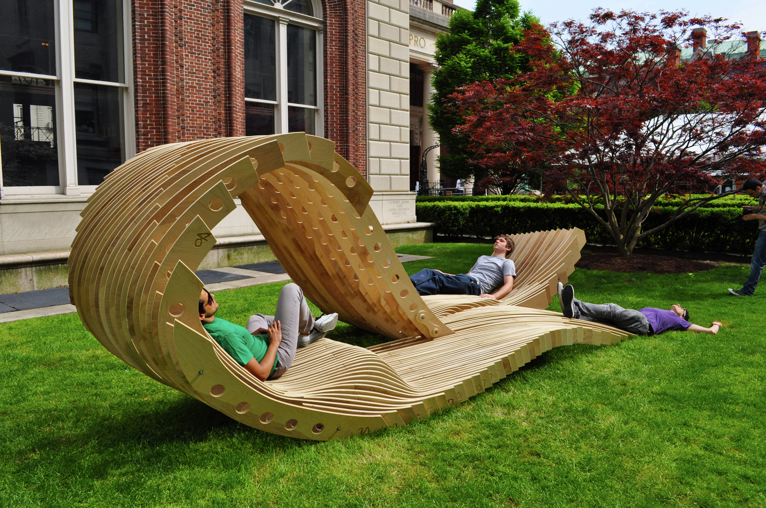 gallery of visual permeability pavilion columbia university