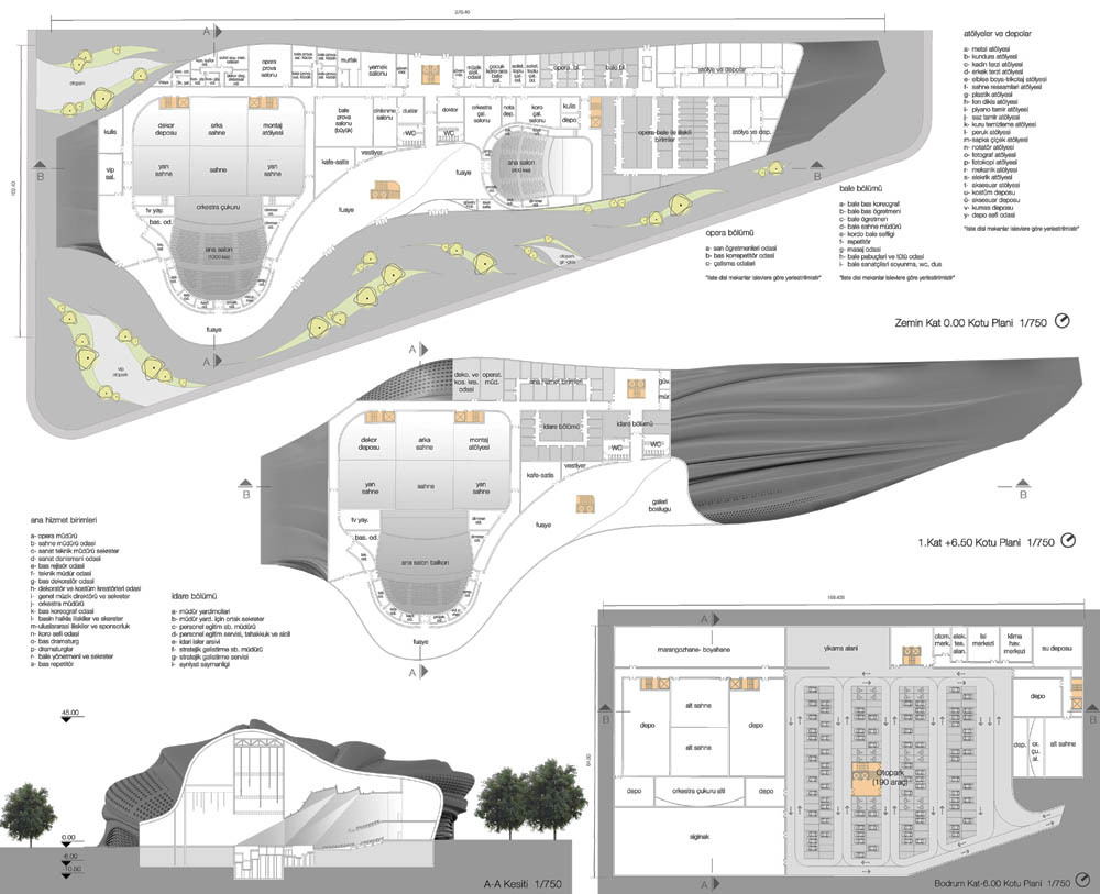 House design competition - Opera House Design Competition Proposal N Vist Courtesy Of N Vist