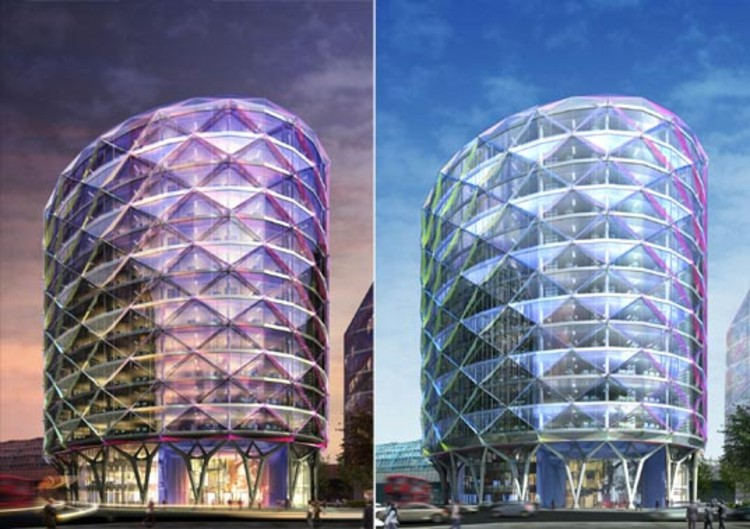 New Sustainable Building For London By Sheppard Robson Archdaily
