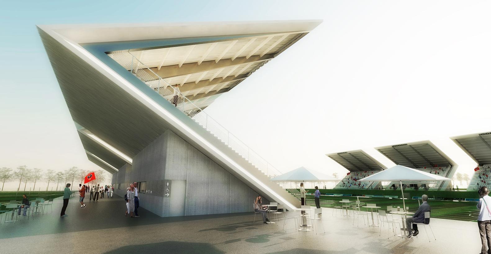 Superior Football Stadium / DATA Architects,Courtesy Of DATA Architects
