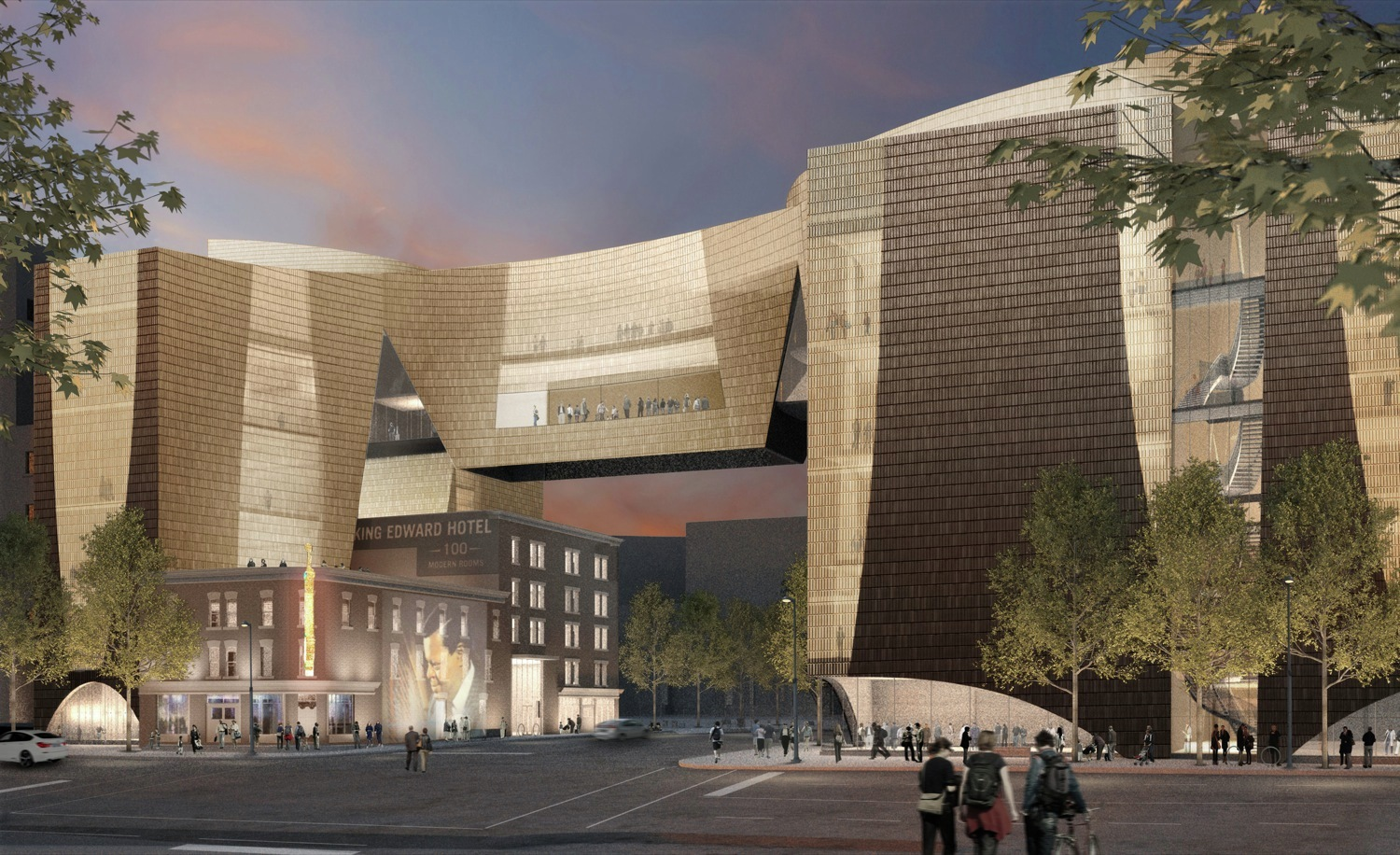 Gallery of National Music Centre reveals design by Allied Works