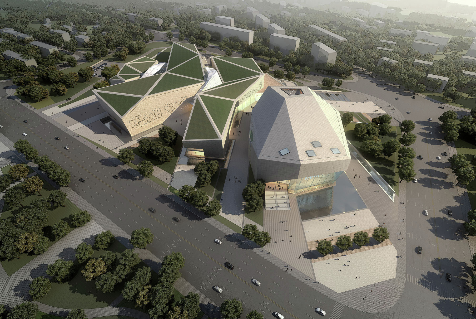 Gallery Of Huaihua Theater And Exhibition Center Proposal