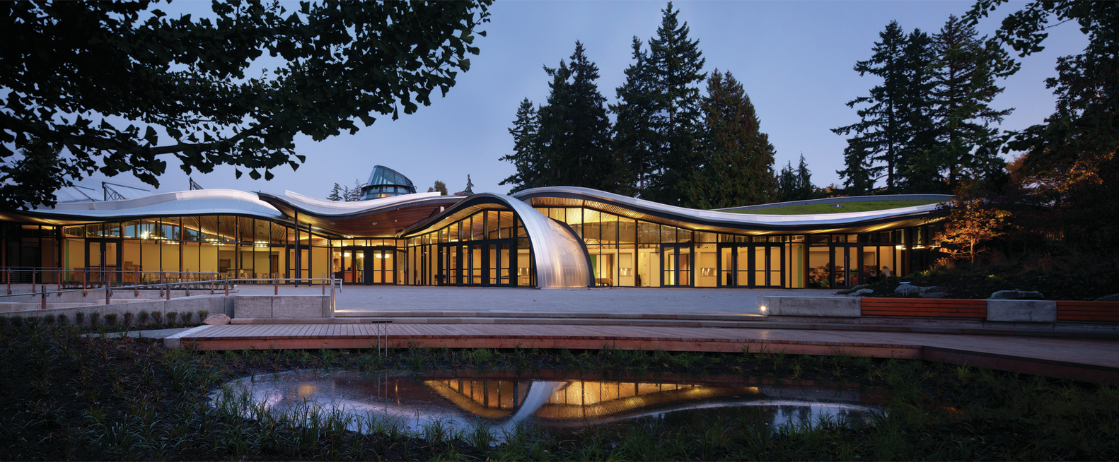 Great VanDusen Botanical Garden Visitor Centre / Perkins+Will,Courtesy Of  Perkins+Will