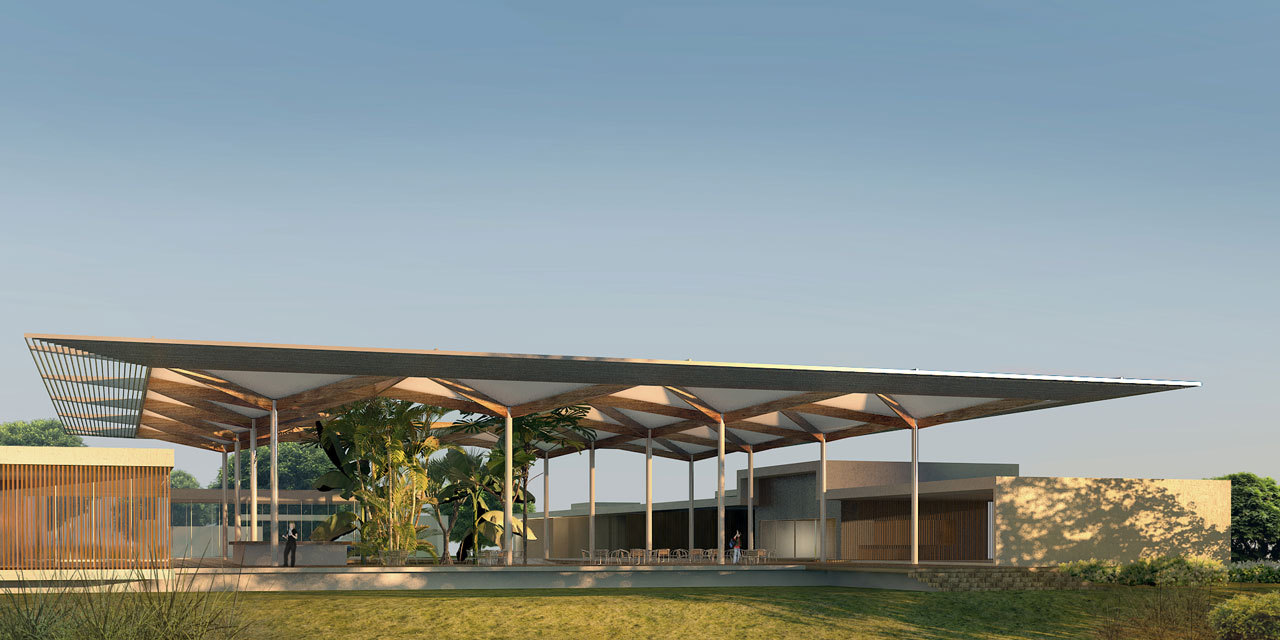 Gallery of rio 2016 rua arquitetos to design olympic golf for Clubhouse architecture design