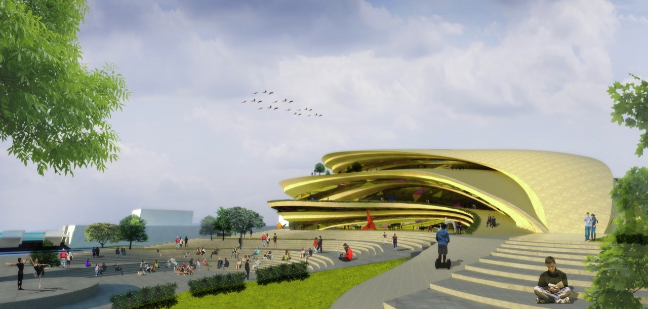 architects theatre competition buensalido performing arts