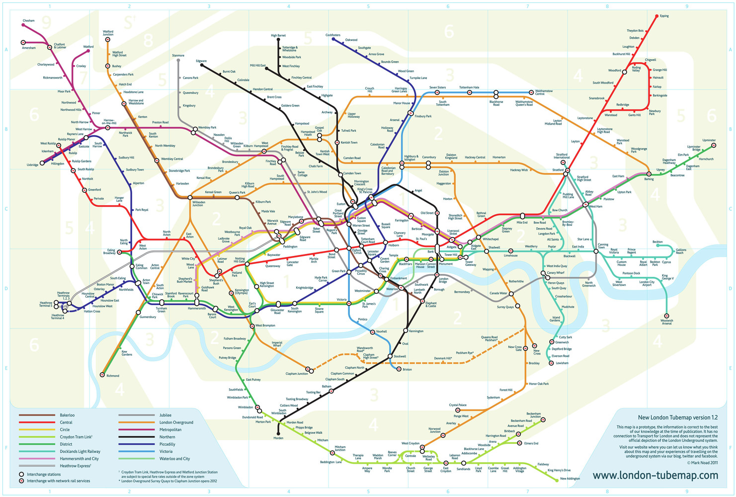 Gallery of London Tube Map Sparks Debate Design and the Multi