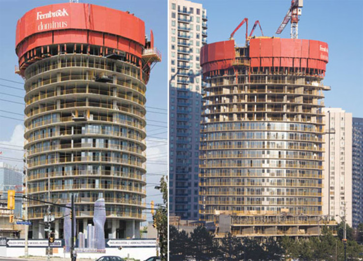 In progress absolute towers mad architects archdaily for Absolute towers