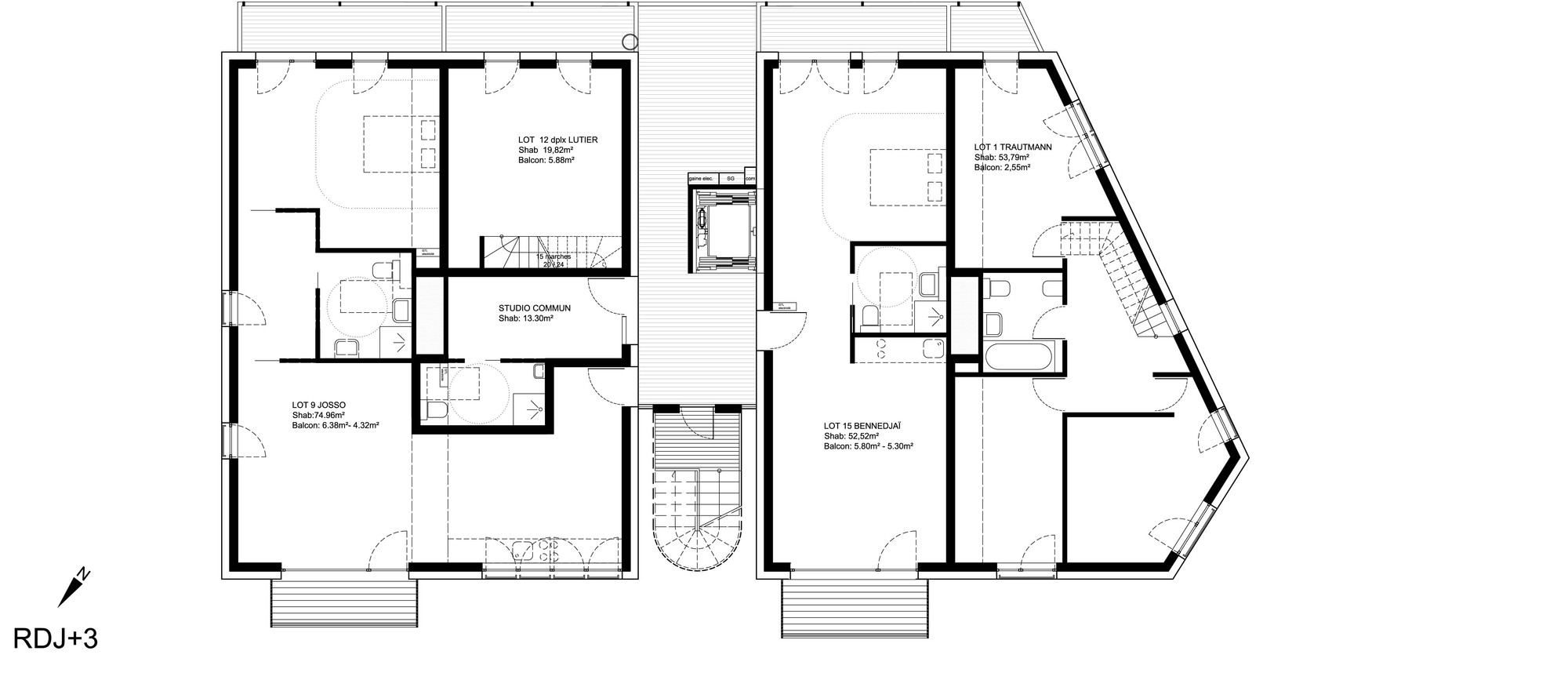 Design Your Own Salon Floor Plan Gallery Of Co Housing Project Karawitz Architecture 4