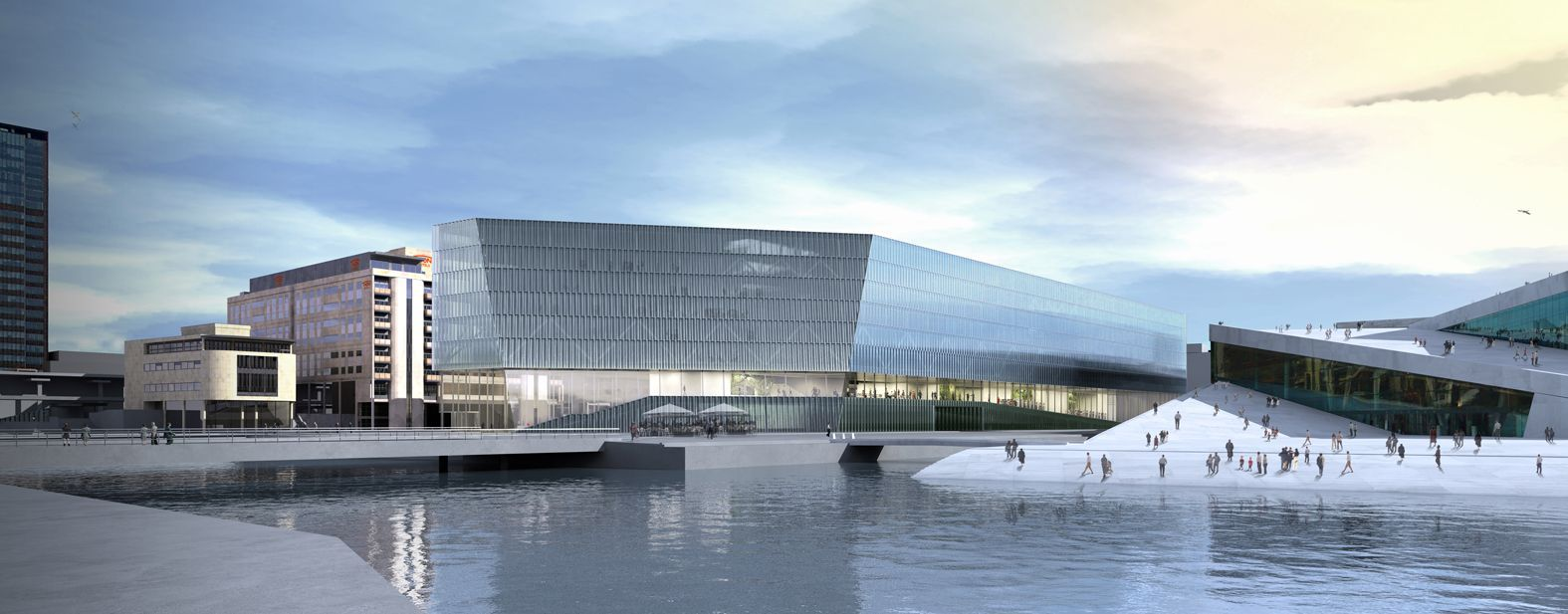 Gallery Of Munch Museum Deichman Library Competition