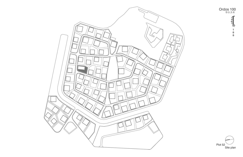 Gallery of ORDOS 100 43 Tatiana Bilbao 11 – Site Plot Plan