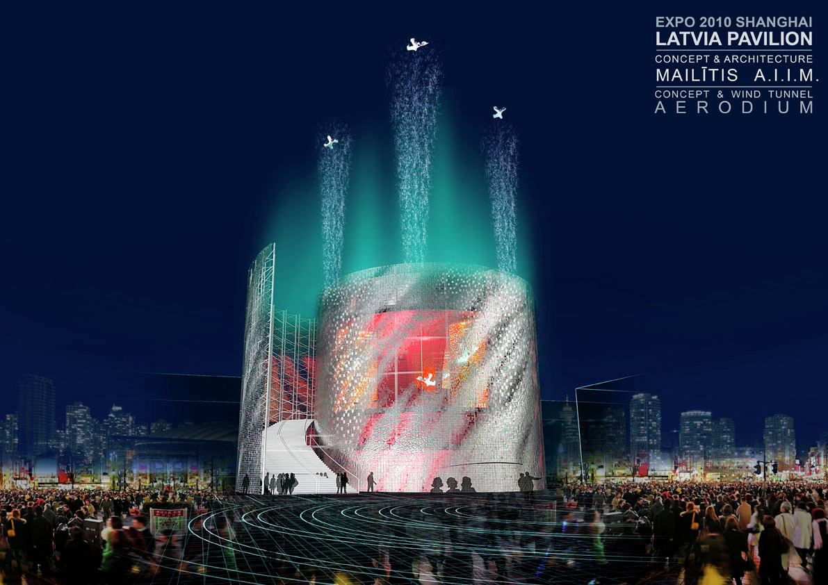 Latvia Pavilion for Shanghai World Expo 2010 | ArchDaily