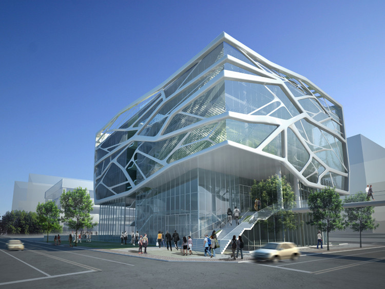 gimpo art hall g lab archdaily