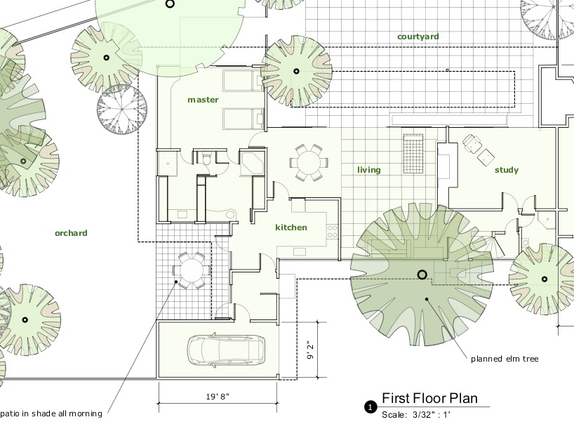 Gallery of google sketchup 7 1 now available 4 for Site plan dimensions