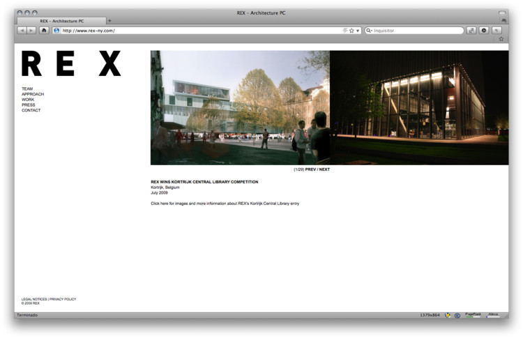 Facebook Fan Page Top 10 Websites Of Architecture Offices Archdaily
