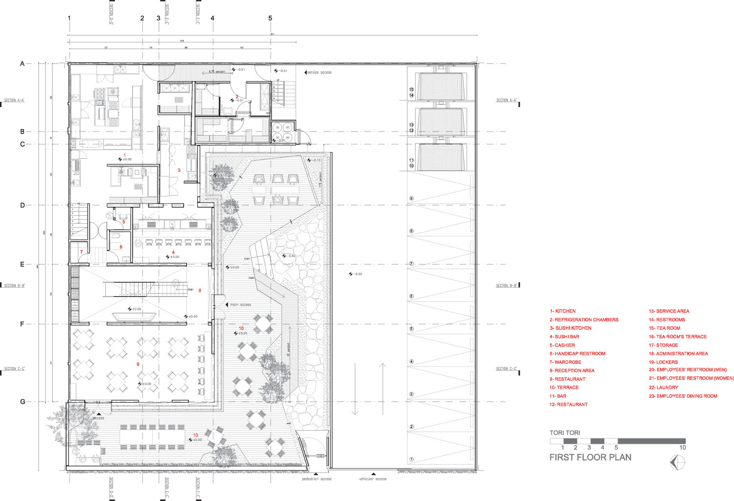gallery 6 with First Floor Plan 8 on 976 also 2437 moreover 4fff6e7028ba0d555700007d Alesia Museum Bernard Tschumi Architects Section together with 55245ab8e58ecea9f8000116 Typical Floor Plan also First Floor Plan 8.