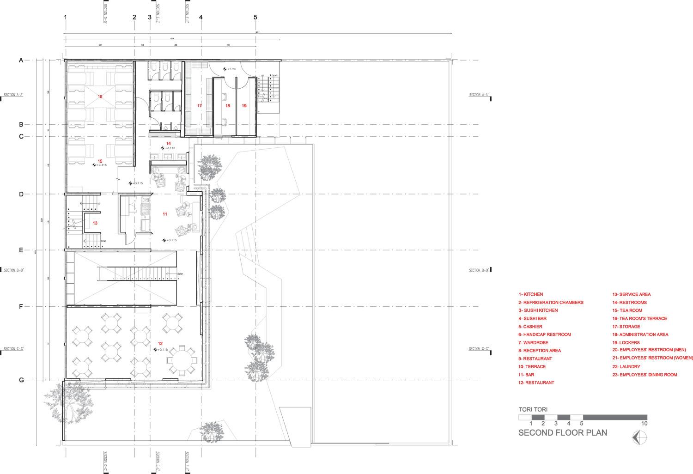 Gallery of tori restaurant rojkind arquitectos