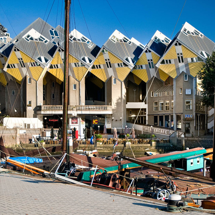 Rotterdam Cube Houses Become New Stayokay Hostel