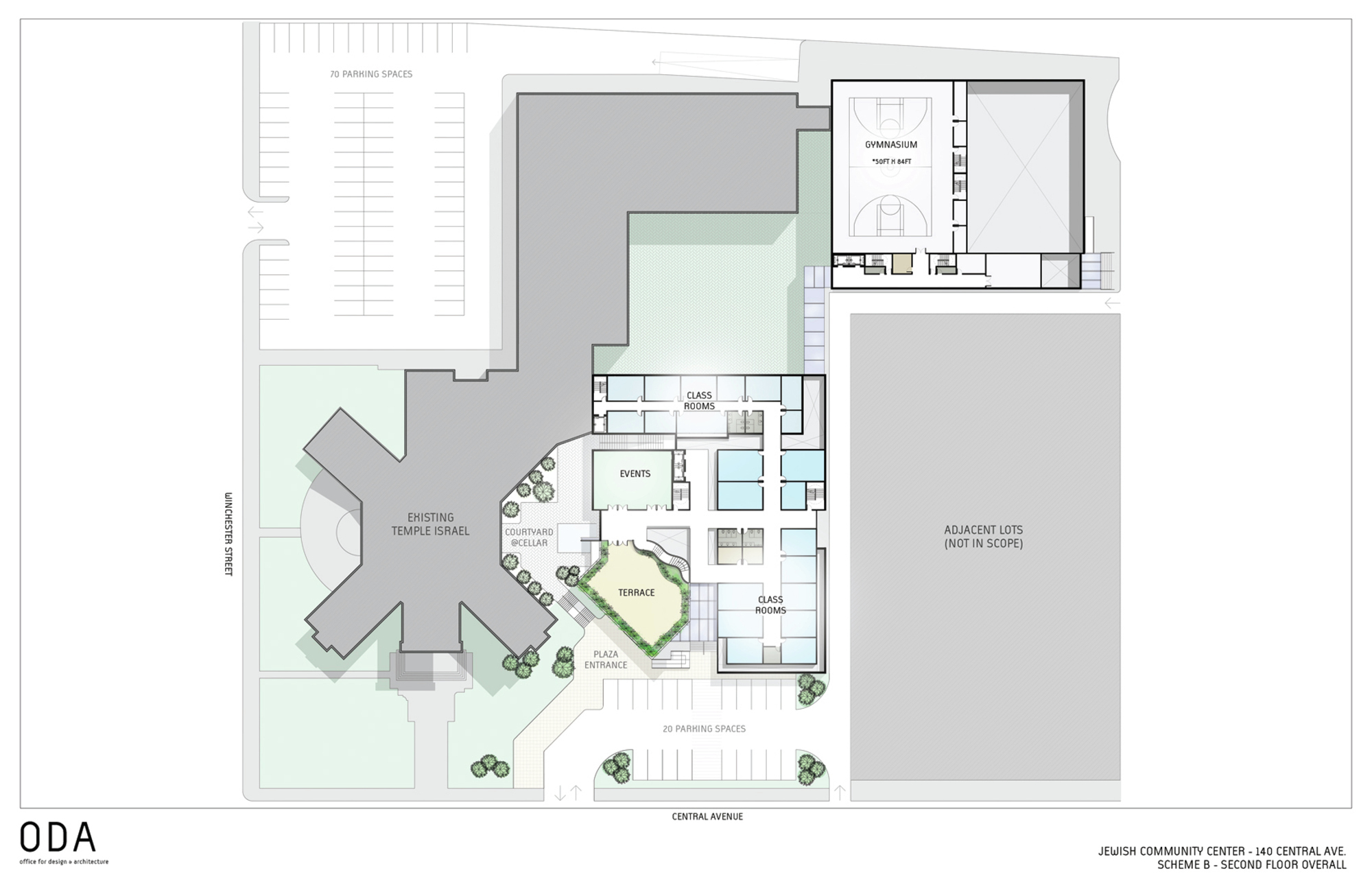 Gallery Of Jewish Community Center ODA Office For