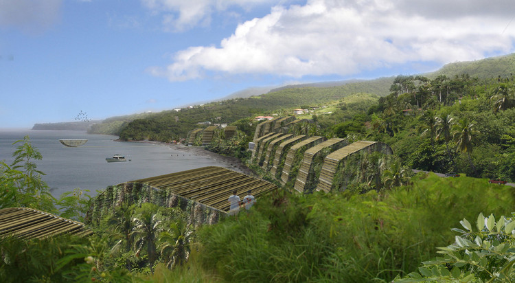 Ecological Resort in Dominica / BURO II   ArchDaily