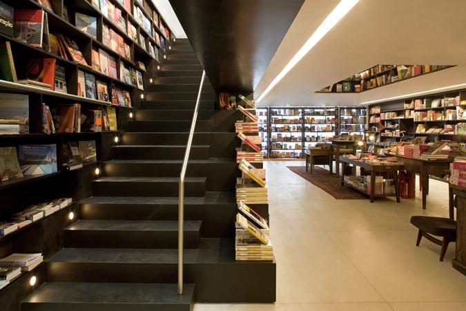Gallery of livraria da vila isay weinfeld 4 - Escaleras para bibliotecas ...