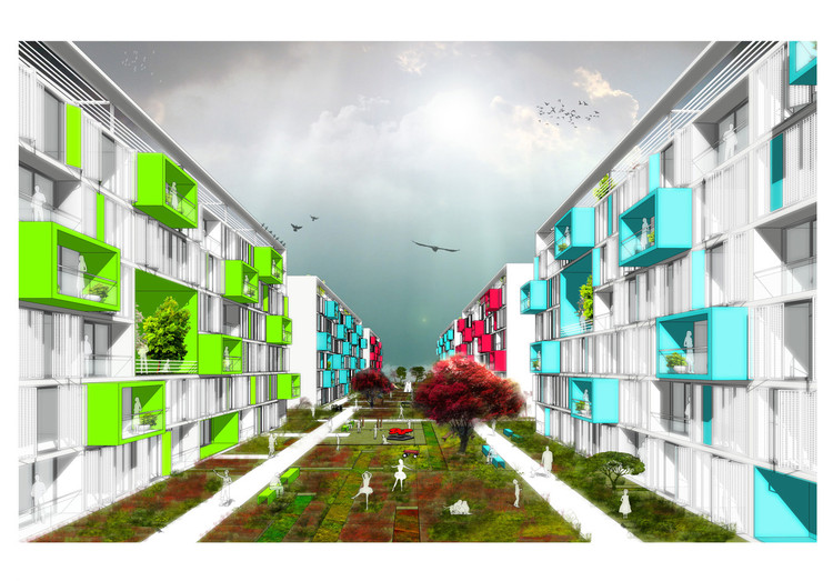 Istanbul Kayabasi Housing Design Competition / First Prize For Aboutblank |  ArchDaily