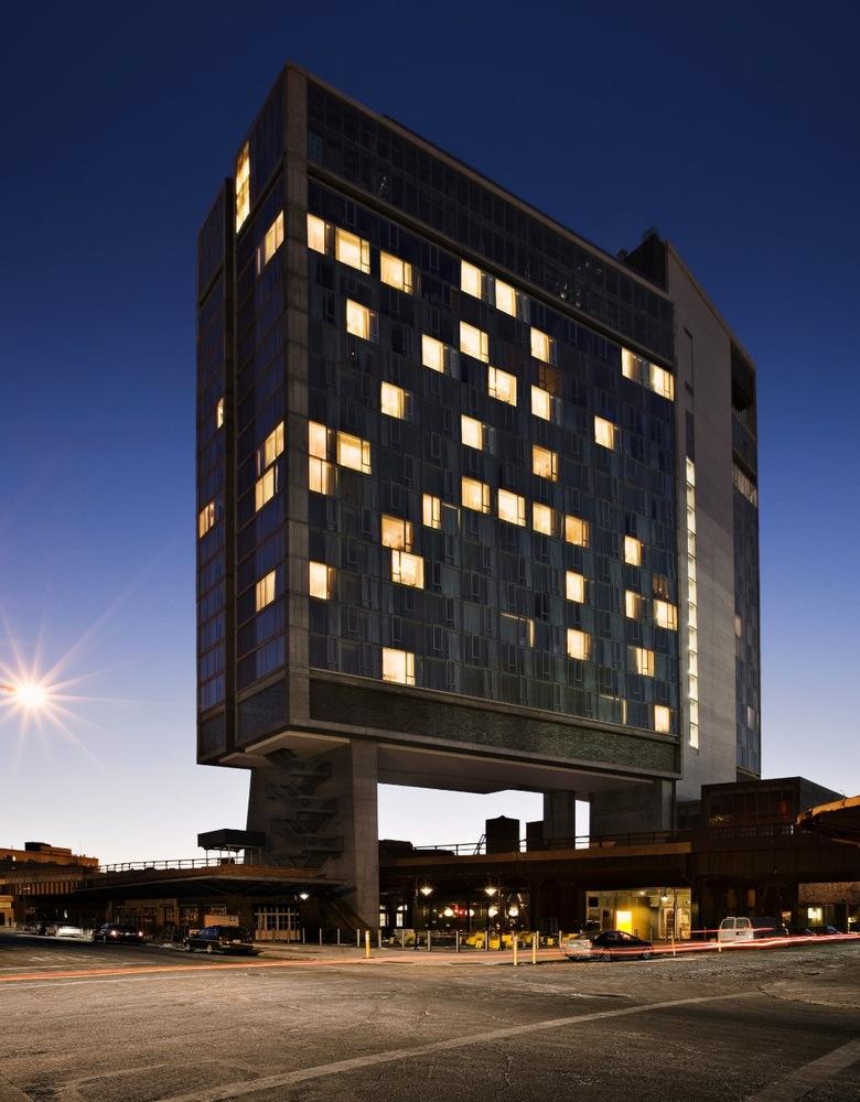 The Standard Hotel New York Polshek Partnership Architects