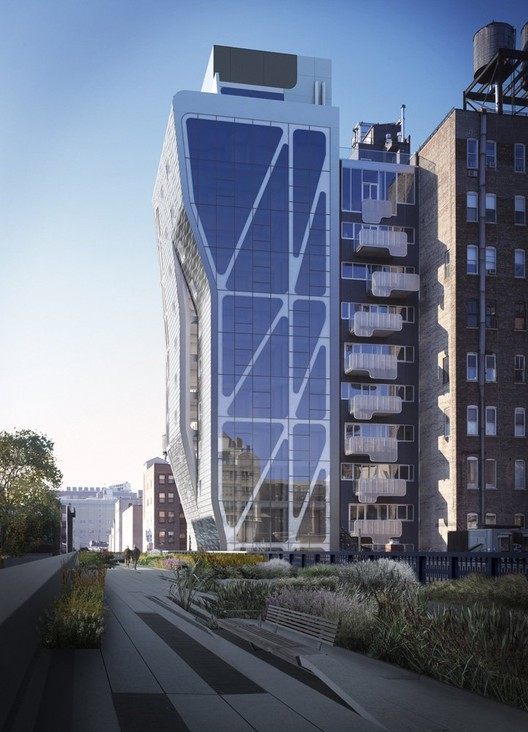 cool new build designs.  High Line 23 Neil M Denari Architects ArchDaily