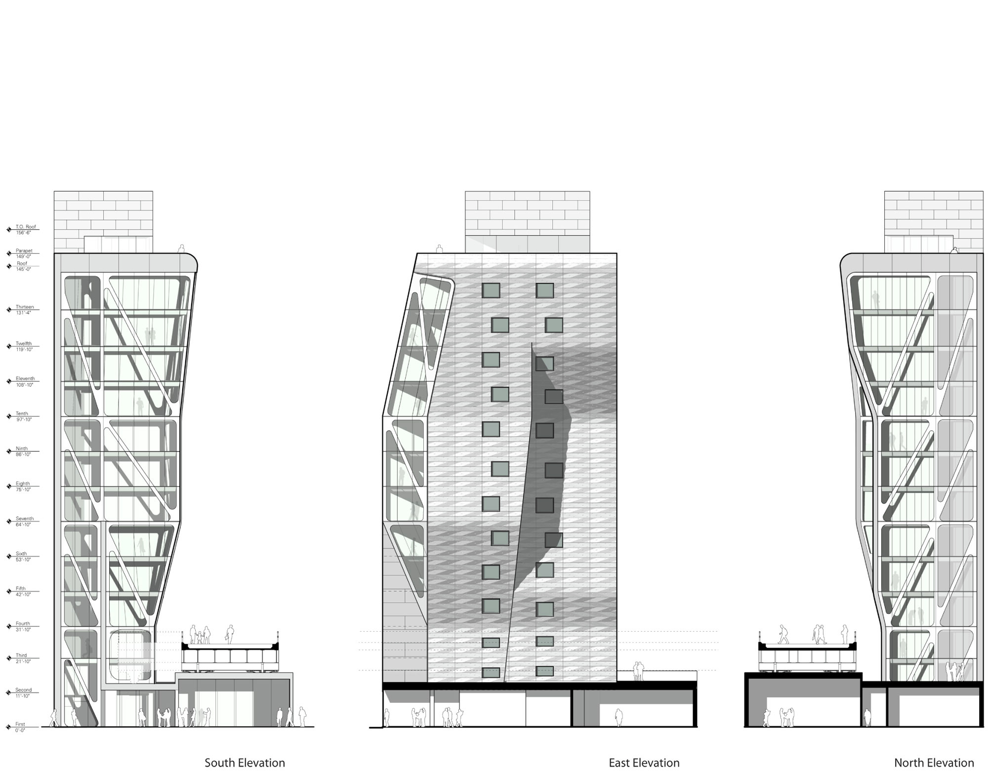 Gallery of high line 23 neil m denari architects 1 for Architectural drawings online