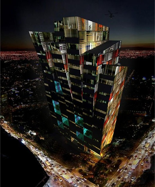 Spanish Firm Moho Architects Are Currently In The Schematic Design Phase Of  A Mixed Use Tower For San Jose, Costa Rica. The Tower, Whose Programmatic  ...