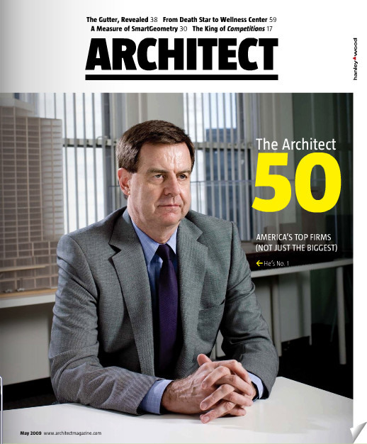 top 100 us architecture firms according to architect magazine