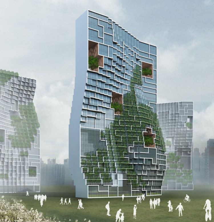 Unsangdong Architects Design Dancing Apartment