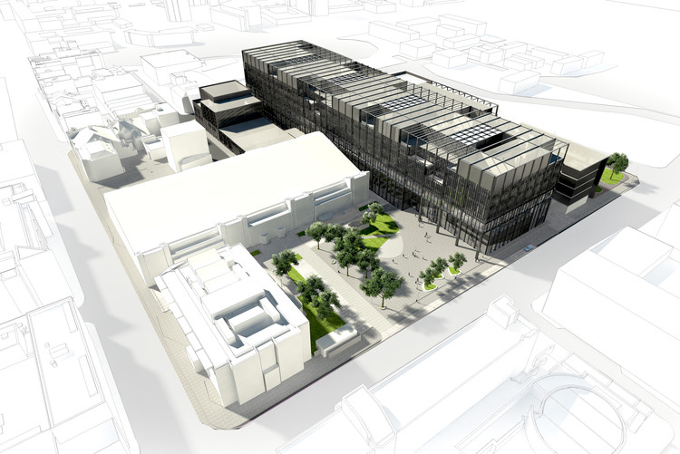 Mecanoo Designs New Engineering Campus for University of Manchester , © Mecanoo