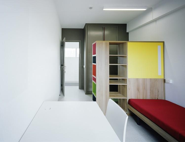 residencia para estudiantes rehabilitaci n casa m xico atela architectes archdaily m xico. Black Bedroom Furniture Sets. Home Design Ideas