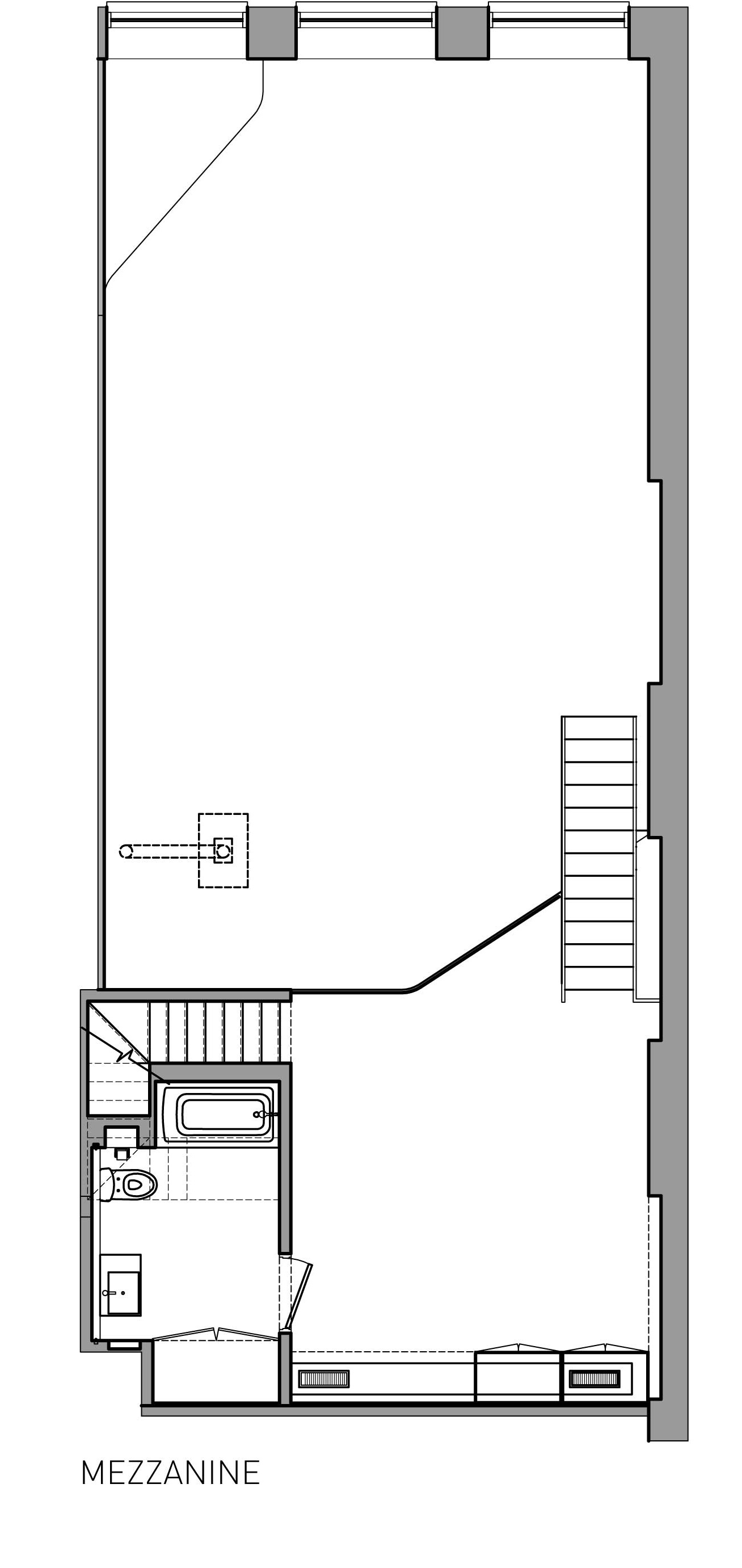 Mezzanine plan home design for House plans with mezzanine floor