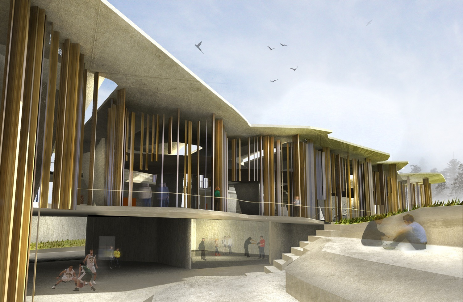Architecture School Studio gallery of new soheil abedian school of architecture competition