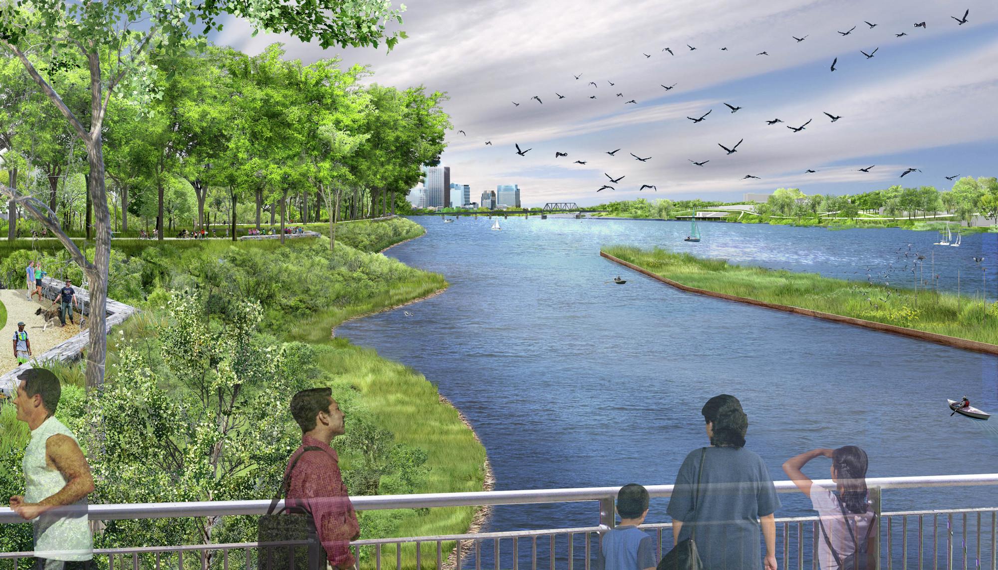 Riverfront Landscape Design
