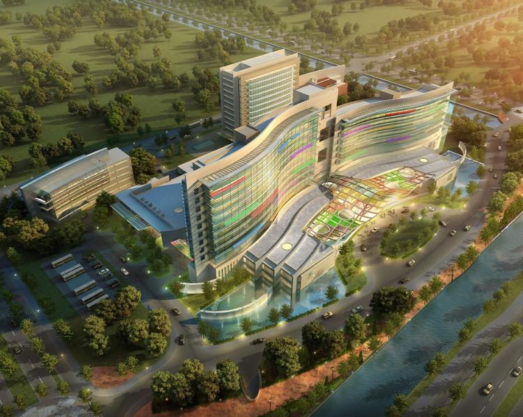 Suzhou Children S Hospital Hks Archdaily