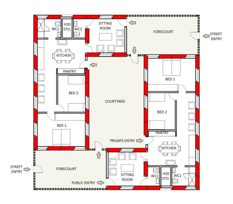 100 Cmu Housing Floor Plans Rait Colorado Mesa