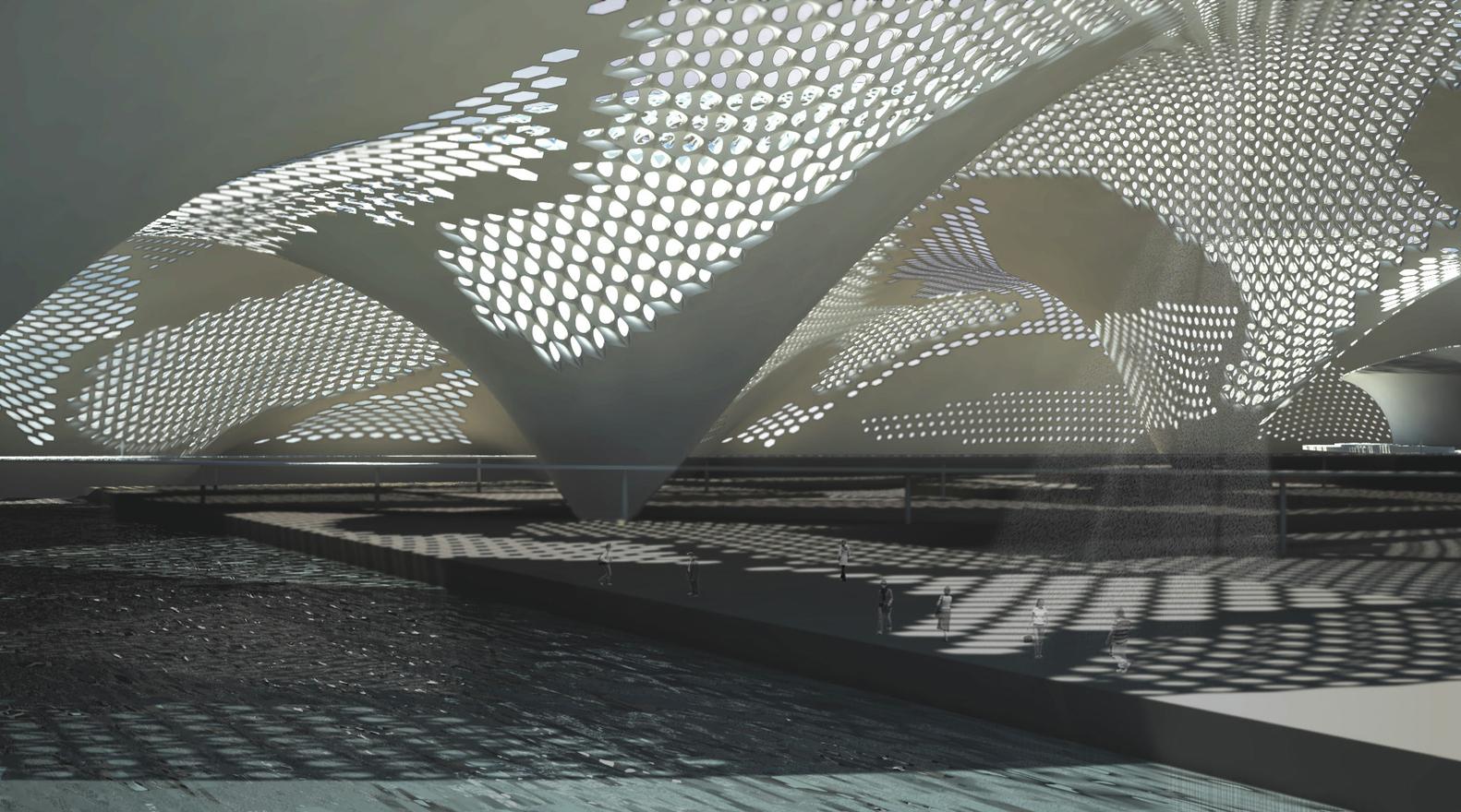 Fibre Composite Adaptive Systems / Architectural Association,Courtesy Of Architectural  Association