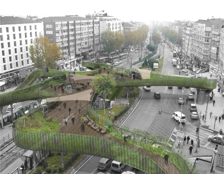 Gallery Of New Visions For Pedestrian Footbridge Design Competition Winner Lea Invent Burcak