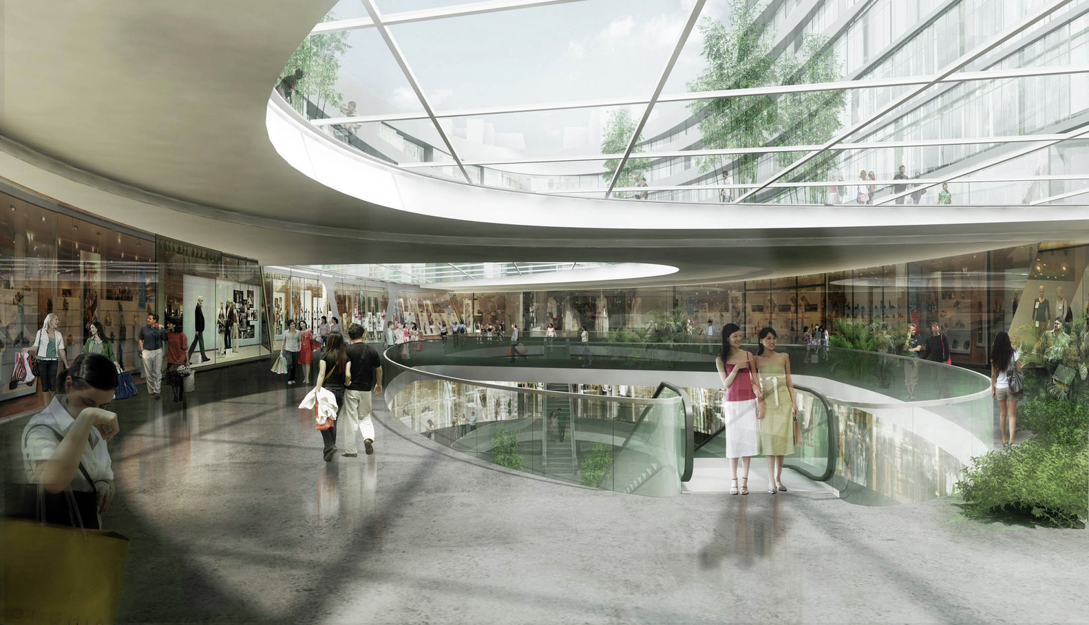 South West Hotel Compeion Proposal Henn Architects Courtesy Of