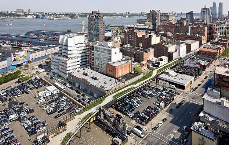 The new york high line officially open archdaily for High line hotel nyc