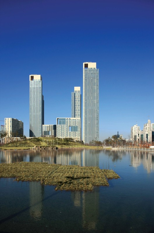 Songdo International Business District Kpf Archdaily