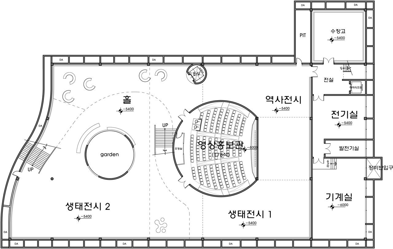 D Exhibition Layout : Gallery of saemangum exhibition center poly m ur